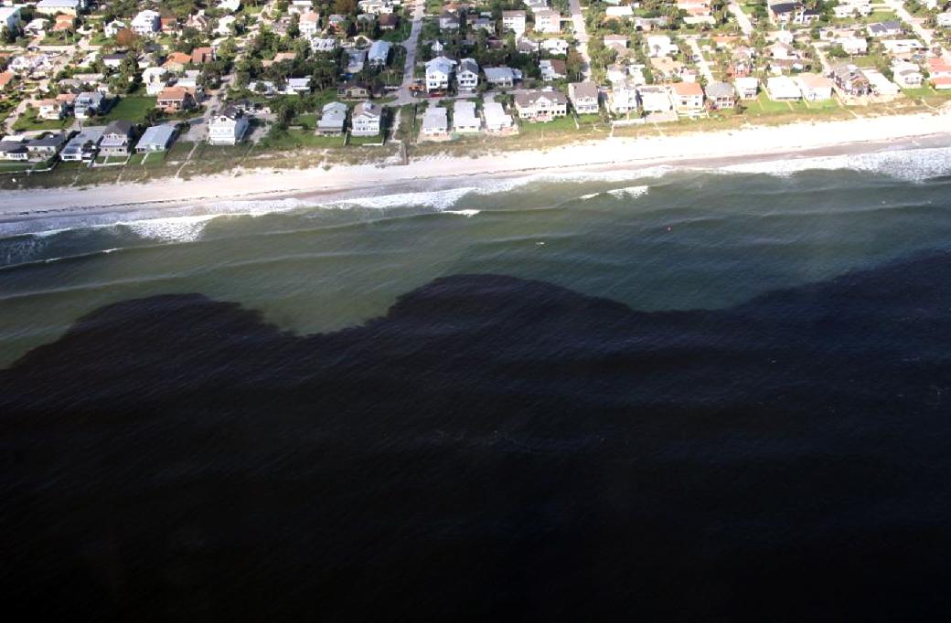 ride tide along Florida's coast