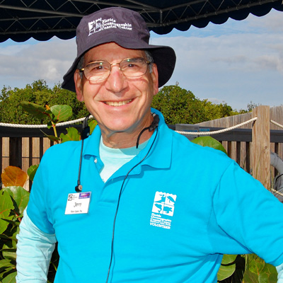 Volunteer Dr. Jerry Aronson