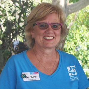 Volunteer Michele Paul