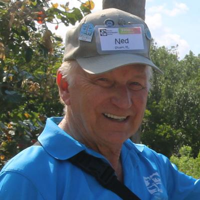 Volunteer Ned Wade
